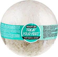 Voňavky, Parfémy, kozmetika Kúpeľ a scrub na nohy - Beauty Jar Treat Your Feet Foot Bath&Scrub