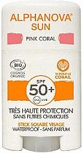 Voňavky, Parfémy, kozmetika Tyčinka s ochranou proti slnku - Alphanova Sun Pink Coral SPF50+