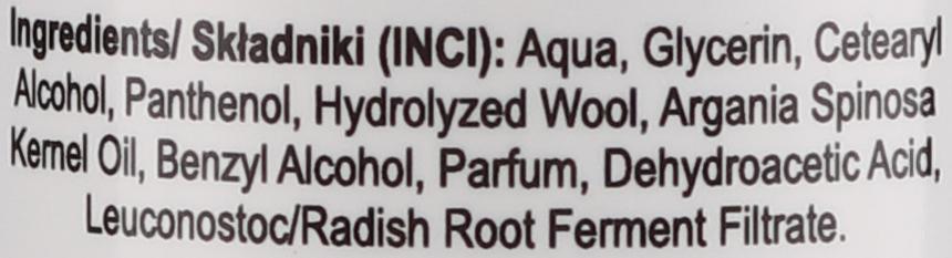 Kondicionér na vlasy - Nacomi No-Rinse With Moroccan Argan Oil Conditioner — Obrázky N3