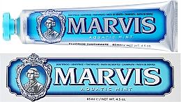 "Voňavky, Parfémy, kozmetika Zubná pasta s xylitolom ""Morská mäta"" - Marvis Aquatic Mint + Xylitol"