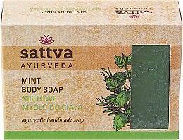 Voňavky, Parfémy, kozmetika Mydlo - Sattva Hand Made Soap Mint