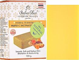 Voňavky, Parfémy, kozmetika Mydlo s extraktom kurkumy - Sabai Thai Herbal Turmeric Soap