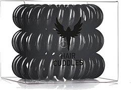 Voňavky, Parfémy, kozmetika Gumička do vlasov, čierna - HH Simonsen Hair Cuddles Black Set