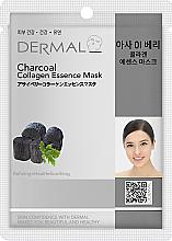 Voňavky, Parfémy, kozmetika Maska s kolagénom a aktívnym uhlím - Dermal Charcoal Collagen Essence Mask