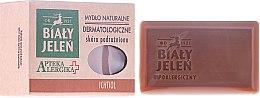 Voňavky, Parfémy, kozmetika Dermatologické mydlo s ichtyolom - Bialy Jelen Apteka Alergika Soap