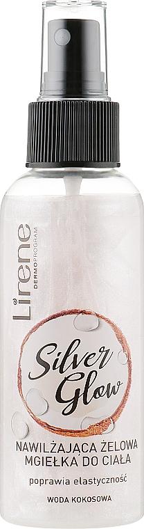 Hydratačný sprej na telo - Lirene Dermo Program Silver Glow