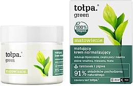 Voňavky, Parfémy, kozmetika Krém na tvár - Tolpa Green Mattifying Normalizing Cream