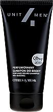 Voňavky, Parfémy, kozmetika Parfumovaný šampón na bradu - Unit4Men Citrus&Musk Perfumed Beard Shampoo