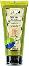 Voňavky, Parfémy, kozmetika Výživná maska na vlasy s bylinkovými extraktmi a panthenolom - Melica Organic Nourishing Hair Mask