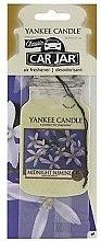 "Voňavky, Parfémy, kozmetika Arómatizator ""Polnočný jasmin"" - Yankee Candle Midnight Jasmine Jar Classic"