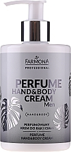 Voňavky, Parfémy, kozmetika Parfumovaný krém na ruky a telo - Farmona Professional Perfume Hand&Body Cream Men