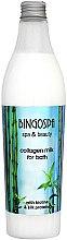 Voňavky, Parfémy, kozmetika Kúpeľové mlieko kolagén s proteínmi hodvábu - BingoSpa