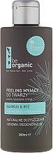 """Voňavky, Parfémy, kozmetika Scrub na tvár """"Bambus a ryža"""" - Be Organic Facial Cleansing Scrub"""