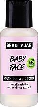 Tonikum na predĺženie mladosti pokožky s extraktom z pupočníka ázijského a divokej ruže - Beauty Jar Baby Face Youth-Boosting Toner — Obrázky N1