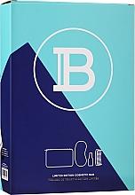 Voňavky, Parfémy, kozmetika Sada - Balmain Limited Edition Cosmetic Bag Turquoise (cond/50ml + sleeping/mask + brush + bag)
