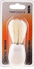 Voňavky, Parfémy, kozmetika Štetka na holenie, biela 30338 - Top Choice