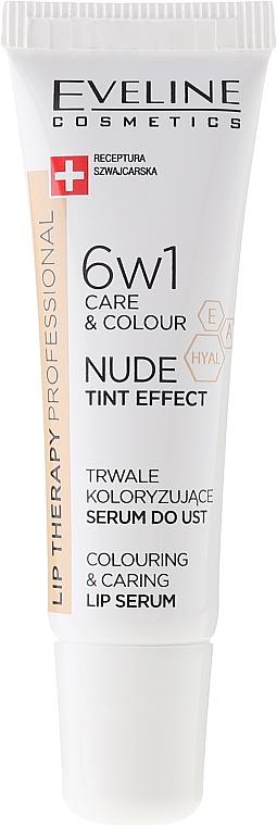 Intenzívne sérum na pery 6v1 - Eveline Cosmetics Lip Therapy Proffesional Tint