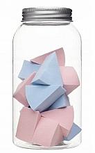 Voňavky, Parfémy, kozmetika Špongie na makeup v sklenenej nádobe, 415216, 14 ks - Inter-Vion