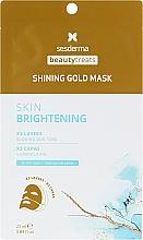 Voňavky, Parfémy, kozmetika Zlatá maska na tvár - SesDerma Laboratories Beauty Treats Shining Gold Mask