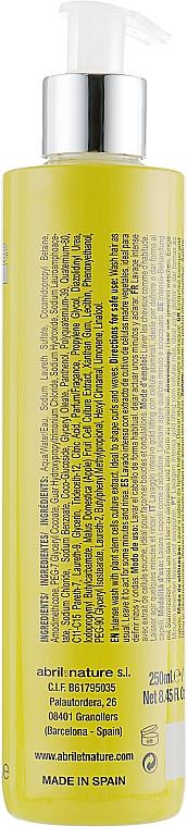 Šampón s kmeňovými bunkami pre kučeravé vlasy - Abril et Nature Stem Cells Gold Lifting Shampoo — Obrázky N2