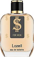 Voňavky, Parfémy, kozmetika Lazell $ For Men - Toaletná voda
