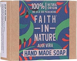 Voňavky, Parfémy, kozmetika Mydlo na ruky s aloe vera - Faith In Nature Aloe Vera Soap