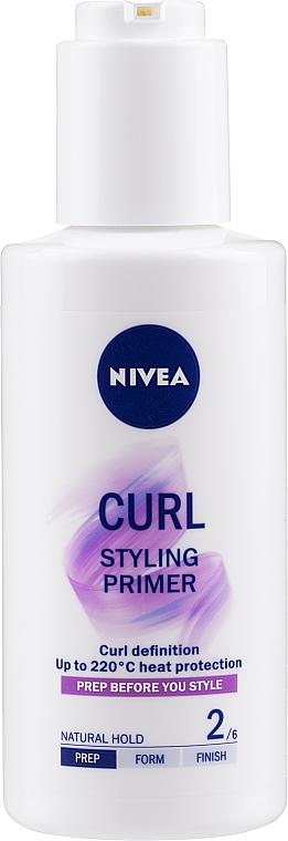 Gél na vlnité a kučeravé vlasy - Nivea Styling Primer Curl