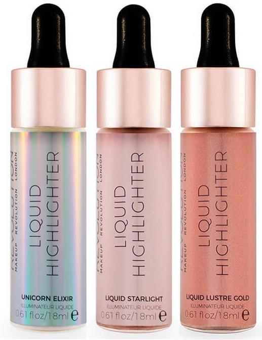 Tekutý rozjasňovač na tvár - MakeUp Revolution Liquid Highlighter — Obrázky N3