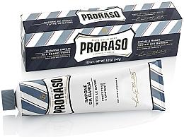 Voňavky, Parfémy, kozmetika Krém na holenie s aloe a vitamínom E - Proraso Blue Shaving Cream