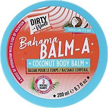 Voňavky, Parfémy, kozmetika Kokosový balzam na telo - Dirty Works Bahama Balm-A Coconut Body Balm