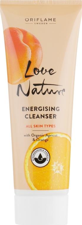 "Čistiaci prostriedok na tvár ""Marhuľa a pomaranč"" - Oriflame Love Nature Energising Cleanser"