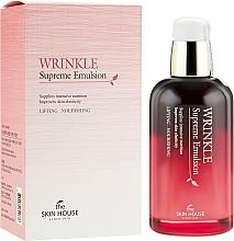 Voňavky, Parfémy, kozmetika Výživná emulzia so ženšenom - The Skin House Wrinkle Supreme Emulsion