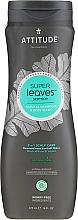 Voňavky, Parfémy, kozmetika Šampón-sprchový gél - Attitude Super Leaves Natural Shampoo & Body Wash 2-in-1 Scalp Care