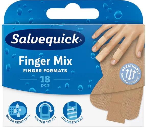 Náplasť na prsty na rukách a nohách - Salvequick Finger Mix