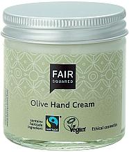 """Voňavky, Parfémy, kozmetika Krém na ruky """"Oliva"""" - Fair Squared Olive Hand Cream"""