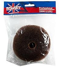 Voňavky, Parfémy, kozmetika Výplň do vlasov, 11x4,5 cm, hnedý - Ronney Professional Hair Bun 050