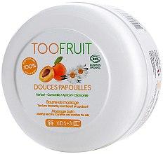 Voňavky, Parfémy, kozmetika Balzam na masáž - TOOFRUIT Apricot Chamomile Massage Balm