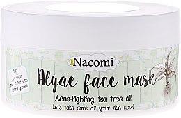 "Voňavky, Parfémy, kozmetika Alginátová maska na tvár ""Zelený čaj"" - Nacomi Professional Face Mask"