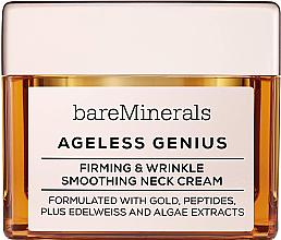 Voňavky, Parfémy, kozmetika Spevňujúci a vyhladzujúci krém na krk - Bare Escentuals Bare Minerals Moisturizer Ageless Genius Firming & Wrinkle Smoothing Neck Cream
