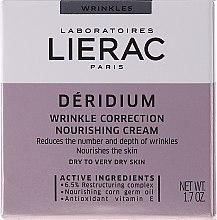 Voňavky, Parfémy, kozmetika Výživný krém pre korekciu vrások - Lierac Paris Deridium Wrinkle Correction Nourishing Cream