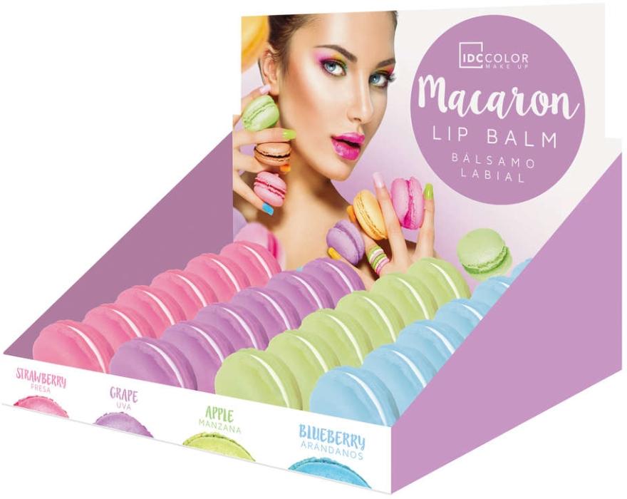 """Balzam na pery """"Marakun"""", jahoda - IDC Institute Color Macaron Lip Balm Strawberry — Obrázky N2"""
