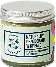 Voňavky, Parfémy, kozmetika Dezodorant-krém s citrusovou bylinkovou vôňou - Cztery Szpaki