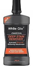 Voňavky, Parfémy, kozmetika Ústna voda - White Glo Charcoal Deep Stain Remover Mouthwash