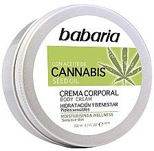 Voňavky, Parfémy, kozmetika Krém na telo - Babaria Cannabis Moisturizing Body Cream