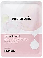 Voňavky, Parfémy, kozmetika Hydratačná textilná maska na tvár s peptidmi - SNP Prep Peptaronic Ampoule Mask