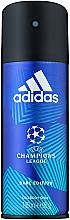 Voňavky, Parfémy, kozmetika Adidas UEFA Champions League Dare Edition Deo Body Spray - Dezodorant