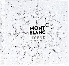 Voňavky, Parfémy, kozmetika Montblanc Legend Spirit - Sada (edt/100 ml + ash/balm/100 ml + sh/gel/100 ml)