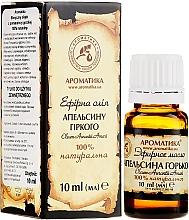 """Voňavky, Parfémy, kozmetika Eterický olej """"Gorkého pomaranča"""" - Aromatika"""