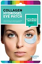 Voňavky, Parfémy, kozmetika Kolagénová vyhladzujúca maska-náplasť proti tmavým kruhom a opuchom pod očami - Beauty Face Collagen Hydrogel Eye Mask