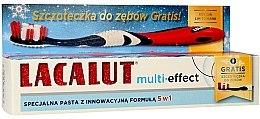 """Voňavky, Parfémy, kozmetika Zubná pasta """"Multi-Effect"""" - Lacalut (Toothpaste/75ml + zubná kefka)"""